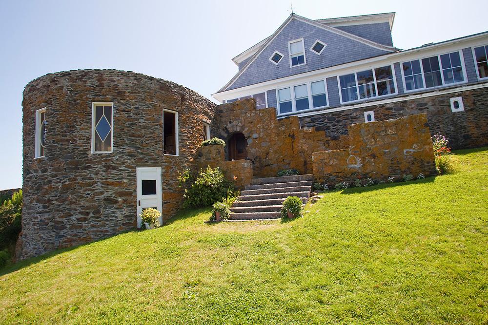 Admiral Peary's home<br /> Eagle Island, Casco Bay<br /> 2009 Halifax-Jamestown