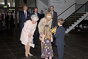 State visit of Luxembourg to the Netherlands /<br /> Staatsbezoek van Luxemburg aan Nederland<br /> <br /> On the photo / Op de foto;<br /> <br /> Grand Duke prince Henri, Willem Alexander and princess Máxima at Van Gogh museum for the exhibition rembrandt caravaggio.<br /> <br /> Groothertog Prins Henri, Groothertogin, Willem Alexander en Prinses Máxima bij het Van Gogh Museum voor de tentoonstelling Rembrandt-Caravaggio .
