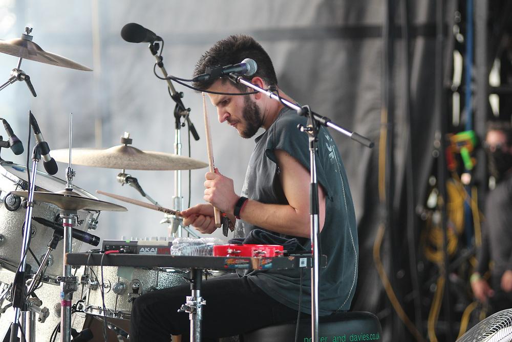 X Ambassadors perform at Austin City Limits in Austin, TX on October 7, 2018.