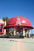 Giant Baseball Cap at the Main Entrance to Angel Stadium