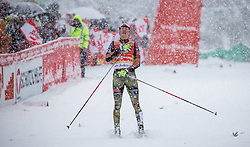 31.01.2016, Casino Arena, Seefeld, AUT, FIS Weltcup Nordische Kombination, Seefeld Triple, Langlauf, im Bild Eric Frenzel (GER, 1.Platz) // 1st placed Eric Frenzel of Germany competes during 15km Cross Country Gundersen Race of the FIS Nordic Combined World Cup Seefeld Triple at the Casino Arena in Seefeld, Austria on 2016/01/31. EXPA Pictures © 2016, PhotoCredit: EXPA/ Jakob Gruber