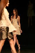 Belo Horizonte_MG, Brasil. ..Modelos desfilando no Oi Fashion Tour no Palacio das Artes...The models parading in the Oi Fashion Tour in The Palacio das Artes...Foto: LEO DRUMOND / NITRO