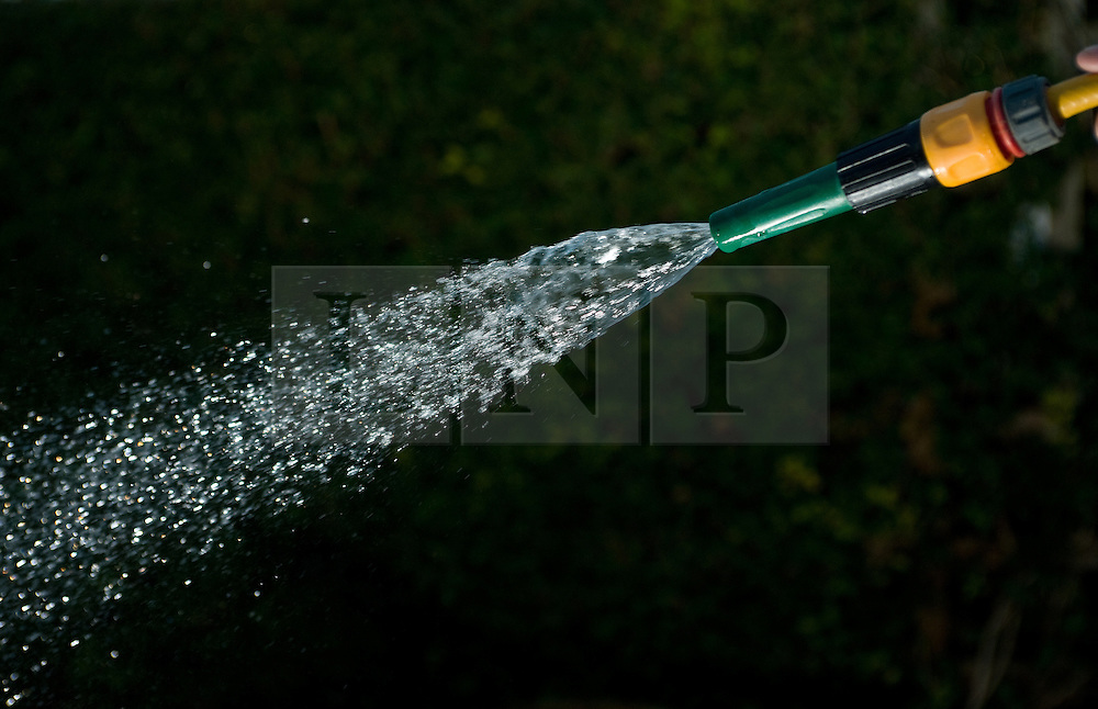 © Licensed to London News Pictures. 24/02/2012..Saltburn, Cleveland..Current fears about water shortages later in the year may bring about hose pipe bans throughout the country...Photo credit : Ian Forsyth/LNP