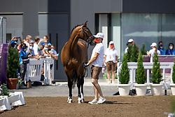Bacher Florian, AUT, Fidertraum, 104<br /> Olympic Games Tokyo 2021<br /> © Hippo Foto - Dirk Caremans<br /> 23/07/2021