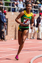Penn Relays, USA vs the World, 4x400 relay, Stephenie-Ann McPherson, Jamaica