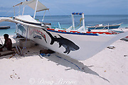 representations of the thresher shark have become ubiquitous on Malapascua Island, central Philippines, Vizcayan Sea, Western Pacific Ocean