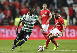 February 7, 2019 - Na - Lisbon, 06/02/2019 - SL Benfica received this evening the Sporting CP in the Stadium of Light, in game the account for the first leg of the Portuguese Cup 2018/19 semi final. Borja and Salvio  (Credit Image: © Atlantico Press via ZUMA Wire)