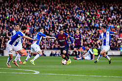 March 30, 2019 - Barcelona, BARCELONA, Spain - 10 Leo Messi of FC Barcelona during the ''Derby'' of La Liga match between FC Barcelona and RCD Espanyol in Camp Nou Stadium in Barcelona 30 of March of 2019, Spain. (Credit Image: © AFP7 via ZUMA Wire)