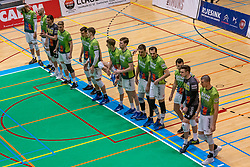 Team Orion during the league match between Active Living Orion vs. Amysoft Lycurgus on March 20, 2021 in Doetinchem.
