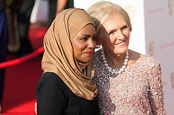 © Licensed to London News Pictures. 08/05/2016. London, UK. NADIYA HUSSAIN and MARY BERRY attend the BAFTA Television Awards 2016. Photo credit: Ray Tang/LNP