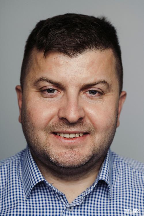 Siedlce, Polska. 26.11.2019<br /> Waldemar Brzozowski założyciel wlasciciel firmy EMALCO.<br /> Fot. Adam Tuchlinski dla Forbes.