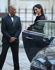Meghan Markle, The Duchess of Sussex closes her car door - 25 Sep 2018