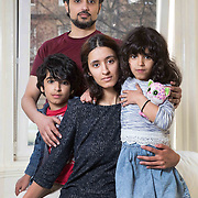Haifa Alshamrani has had her support cut off from the Saudi Government to study in Glasgow. With her family ; husband Abdullah, son Mohammed (10) and daughter Gadah (7) at home in Glasgow. Picture Robert Perry for The Herald and  Evening Times 27th April 2016<br /> <br /> Must credit photo to Robert Perry<br /> <br /> FEE PAYABLE FOR REPRO USE<br /> FEE PAYABLE FOR ALL INTERNET USE<br /> www.robertperry.co.uk<br /> NB -This image is not to be distributed without the prior consent of the copyright holder.<br /> in using this image you agree to abide by terms and conditions as stated in this caption.<br /> All monies payable to Robert Perry<br /> <br /> (PLEASE DO NOT REMOVE THIS CAPTION)<br /> This image is intended for Editorial use (e.g. news). Any commercial or promotional use requires additional clearance. <br /> Copyright 2016 All rights protected.<br /> first use only<br /> contact details<br /> Robert Perry     <br /> 07702 631 477<br /> robertperryphotos@gmail.com<br />         <br /> Robert Perry reserves the right to pursue unauthorised use of this image . If you violate my intellectual property you may be liable for  damages, loss of income, and profits you derive from the use of this image.