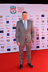 LIVERPOOL, ENGLAND - Thursday, May 10, 2018: Former Liverpool player John Aldridge arrives on the red carpet for the Liverpool FC Players' Awards 2018 at Anfield. (Pic by David Rawcliffe/Propaganda)