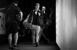 May 9, 2019 - Madrid, MADRID, SPAIN - Kiki Bertens of the Netherlands on her way to the court at the 2019 Mutua Madrid Open WTA Premier Mandatory tennis tournament (Credit Image: © AFP7 via ZUMA Wire)