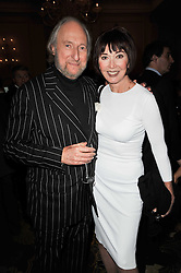 ED & CAROLE VICTOR at the Tatler Restaurant Awards 2011 held at the Langham Hotel, Portland Place, London on 9th May 2011.