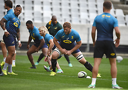 Cape Town-180619 Springbok players  during their training session at Cape Town stadium,the team is preparing for the last test  against England at Newslands on Saturday..Photographer:Phando Jikelo/African News Agency/ANA