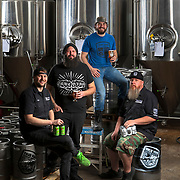 True Vine Brewery's Ryan Dixon, left, Dusty Kittle, Scott Moss and Josh Ayres in the brewery in Tyler, Texas. The five-year-old brewery produces eight main styles of beer along with about 20 seasonal varieties. Nathan Lambrecht/Journal Communications