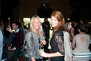 DAVINA HARBORD; LARA HUGHES-YOUNG, The launch of the Peroni Nastro Azzurro Accademia del Film Wrap Party Tour. Brick Lane. 25 August 2010. -DO NOT ARCHIVE-© Copyright Photograph by Dafydd Jones. 248 Clapham Rd. London SW9 0PZ. Tel 0207 820 0771. www.dafjones.com.