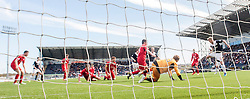 Falkirk's Craig Sibbald msses a chance.<br /> Falkirk 2 v 1 Raith Rovers, Scottish Championship game played today at The Falkirk Stadium.<br /> © Michael Schofield.