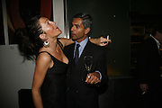 Eve Best and Anvpam Ganguli, First night  for 'A Moon For the Misbegotten' at the Old Vic.  Party at Trafalgar. London. 27 September 2006. -DO NOT ARCHIVE-© Copyright Photograph by Dafydd Jones 66 Stockwell Park Rd. London SW9 0DA Tel 020 7733 0108 www.dafjones.com
