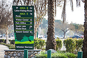 Whittier Narrows Recreation Park Area D and Area E Signage