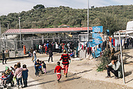 Asylum seekers, including many children live in the Moria refugee camp on the Greek island of Lesvos, home to around 5000 people from countries such as DRC, Syria, Afghanistan, Iraq, Pakistan, Somalia and others.