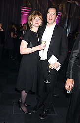 GEORGE OSBORNE MP and his wife FRANCES at the Conservative Party's Black & White Ball held at Old Billingsgate, 16 Lower Thames Street, London EC3 on 8th February 2006.<br /><br />NON EXCLUSIVE - WORLD RIGHTS
