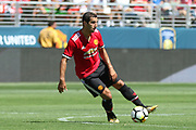 Manchester United Midfielder Henrikh Mkhitaryan during the AON Tour 2017 match between Real Madrid and Manchester United at the Levi's Stadium, Santa Clara, USA on 23 July 2017.