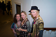CAROLINE APFEL; LYNN SLATER,; DAWN MCDANIEL;  Preview party for the Versace Sale.  The contents of fashion designer Gianni Versace's villa on Lake Como. Sothebys. Old Bond St. London. 16 March 2009.