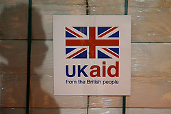 File photo dated 14/8/2014 of a UK aid label. The spending watchdog has found it impossible to measure if more than £12 billion being spent on overseas aid is making any difference to the Government's key development goals.