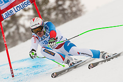 24.12.2012, Abfahrtspiste, CAN, FIS Ski Alpin Weltcup, Lake Louise, Abfahrt, Herren, im Bild Sandro Villetta, SUI // during Mens Downhill of FIS Ski Alpine World Cup at Lake Louise, Canada on 2012/11/24. EXPA Pictures © 2012, PhotoCredit: EXPA/ ESPA/ John Evely