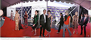 Cynthia Geary, Debbie Mazur, Chad Lowe, Hillary Swank, Jaine ( James) King, Chloe Sevigny, Harmony Korine. IndependentSpirit1d. Independent Spirit Awards 2000. Santa Monica Beach. 25/3/2000.<br /> © Copyright Photograph by Dafydd Jones 66 Stockwell Park Rd. London SW9 0DA Tel 0171 733 0108 www.dafjones.com