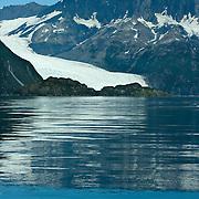 Holgate Glacier meets Aialik Bay in Kenai Fjords National Park Alaska