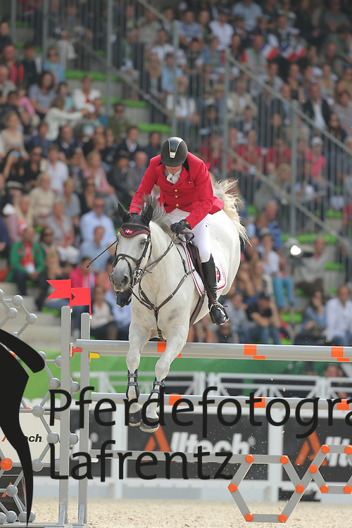 Lopez, Carlos, Prince de la Marie<br /> Normandie - WEG 2014<br /> Springen - Finale IV<br /> © www.sportfotos-lafrentz.de/ Stefan Lafrentz
