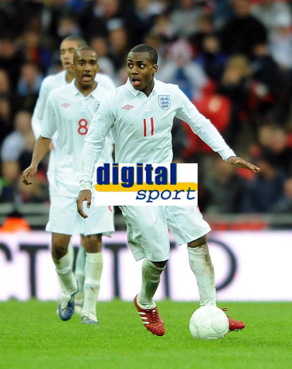 England U21/Portugal U21 European Under 21 Championship 14.11.09 <br /> Photo: Tim Parker Fotosports International<br /> Danny Rose England Under 21's 2009/10
