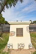 Mission Santa Ines Historic Landmark Sign