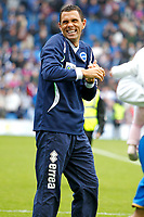 Football - 2012 / 2013 Championship - Brighton and Hove Albion vs. Wolverhampton Wanderers<br /> A happy Brighton and Hove Albion's Manager Gus Poyet