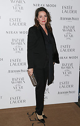 Olivia Colman arrives at Claridge's Hotel in London to attend the Harper's Bazaar Women of the Year Awards.
