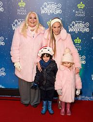 Vicky Pattison, Vanessa Feltz, attend Winter Wonderland Red Carpet Arrivals at Hyde Park in London, 21 November 2018.<br /><br />21 November 2018.<br /><br />Please byline: Vantagenews.com