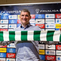 20170309: SLO, Football - Press conference of NK Olimpija Ljubljana
