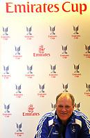 Photo: Tony Oudot/Richard Lane Photography. Emirates Cup Press Conference. 01/08/2008. Hamburg manager, Martin Jol.