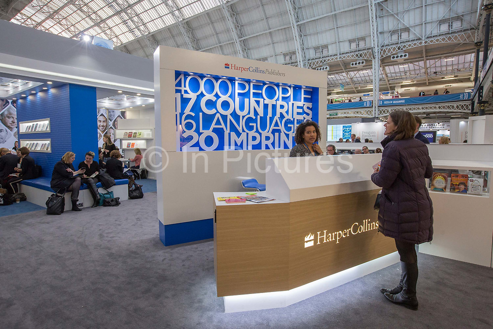 Day two of the London Book Fair on the 13th March 2019 at London Olympia in the United Kingdom.