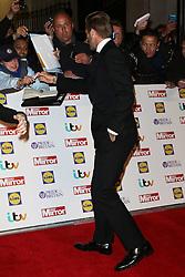 David Beckham, Pride of Britain Awards, Grosvenor House Hotel, London UK. 28 September, Photo by Richard Goldschmidt /LNP © London News Pictures