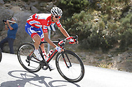 Rudy Molard (FRA - Groupama - FDJ) red jersey, during the UCI World Tour, Tour of Spain (Vuelta) 2018, Stage 9, Talavera de la Reina - La Covatilla 200,8 km in Spain, on September 3rd, 2018 - Photo Luis Angel Gomez / BettiniPhoto / ProSportsImages / DPPI