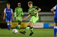 Forest Green Rovers Dan Bradshaw(38) during the FA Youth Cup match between Forest Green Rovers and Helston Athletic at the New Lawn, Forest Green, United Kingdom on 29 October 2019.