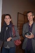 REBECCA WILSON; GEOFF DYER, A Living man declared Dead and Other Chapters. Taryn Simon. Tate Modern, London. 24 May 2011. <br /> <br />  , -DO NOT ARCHIVE-© Copyright Photograph by Dafydd Jones. 248 Clapham Rd. London SW9 0PZ. Tel 0207 820 0771. www.dafjones.com.