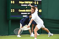 July 1, 2019 - Londres, Grande Bretagne, GB - TENNIS : Wimbledon 2019 - Corentin Mouttet - France (Credit Image: © Panoramic via ZUMA Press)