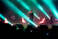 May 25, 2018 - Sydney, NSW, U.S. - SYDNEY, NSW - MAY 25: Ice Cube performs during his Vivid Sydney Tour at The Sydney Opera House in Sydney, Australia on May 25, 2018. (Photo by Speed Media/Icon Sportswire) (Credit Image: © Speed Media/Icon SMI via ZUMA Press)