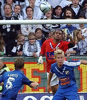 Fotball - tippeligaen Rosenborg - Lyn 0-1<br /> Ali Al-Habsi sto en kjempekamp <br /> <br /> Foto: Carl-Erik Eriksson, Digitalsport